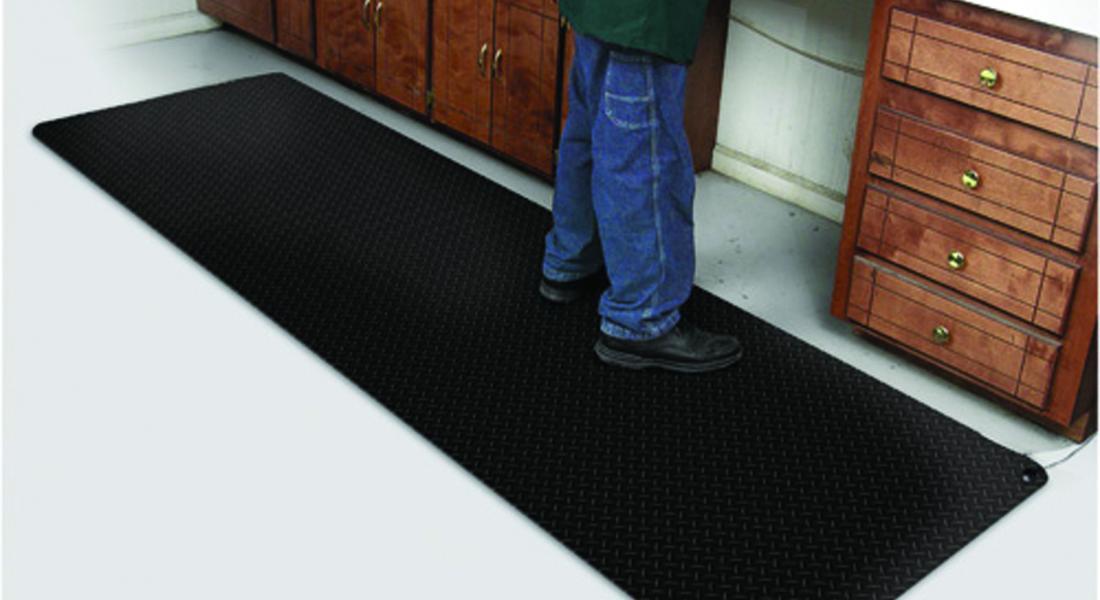 anti fatigue diamond foot mat
