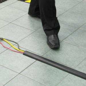 Cable Protector on the ground